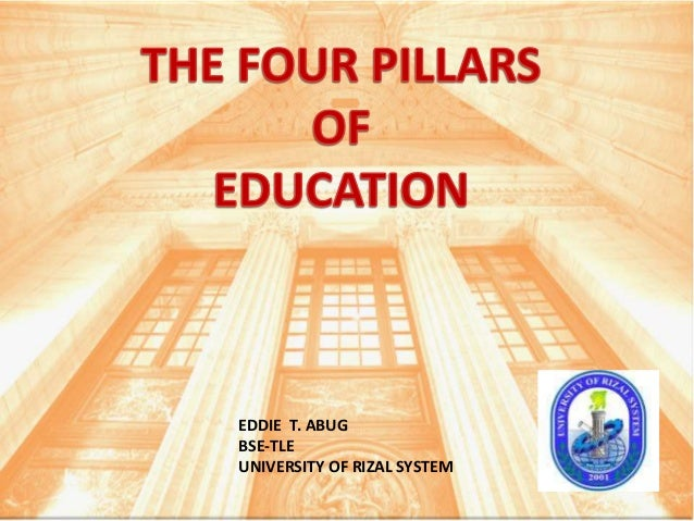 Four pillars of education from group t