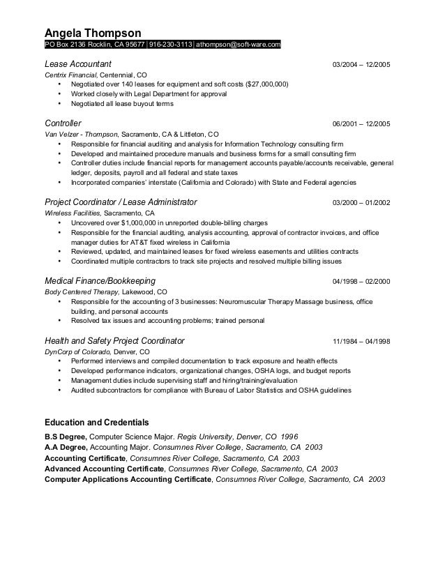 Luxury Aat Accounting Resume Embellishment - Best Resume Examples by ...