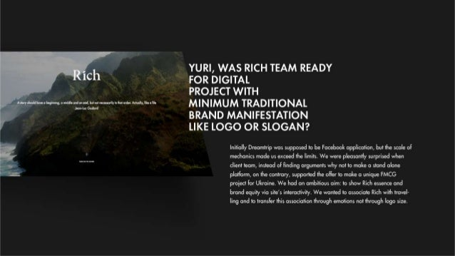 Future of Digital Advertising. Story about Dreamtrip Slide 3