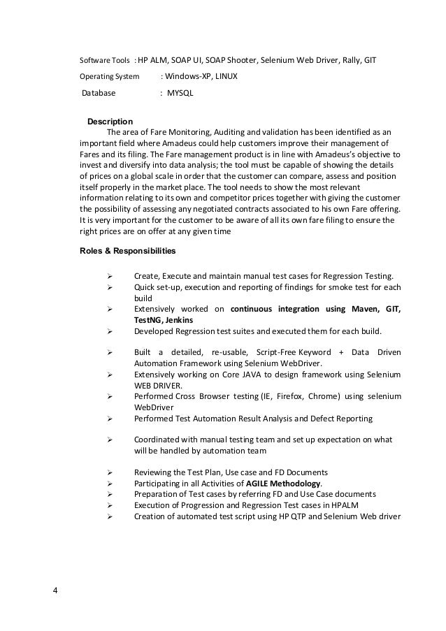 ganeshashetty automation testing resume