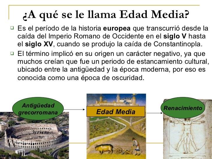 Edad Media Slide 2
