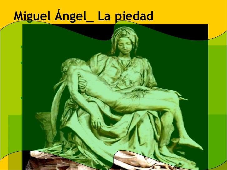 Miguel Ángel_ La piedad
