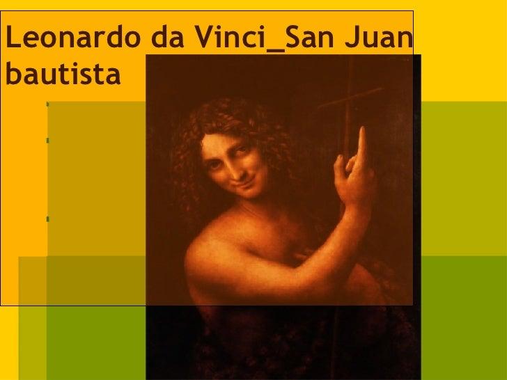 Leonardo da Vinci_San Juan bautista