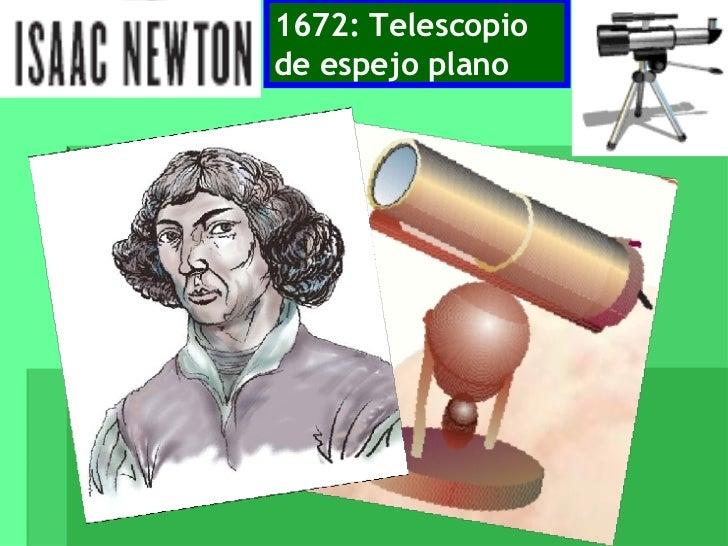 1672: Telescopio de espejo plano