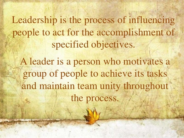 the influence of leadership styles Regardless of the actual form of leadership, however, leadership style is an issue whether you're the leader of a large organization or a member of a small group that practices collective leadership, the way that leadership plays out will have a great deal to do with the effectiveness and influence of your work.