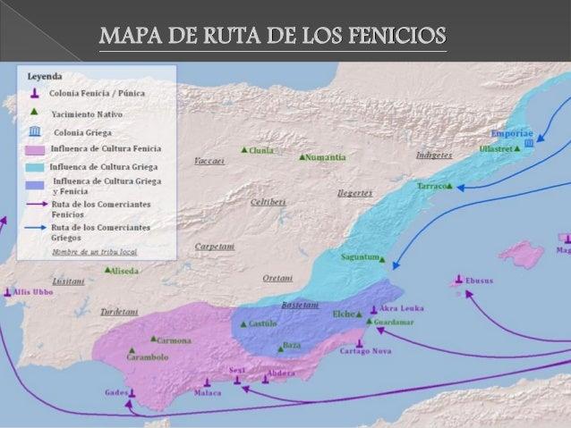 Llegaron en el siglo VI a. C y procedían de Grecia. Se instalaron en la costa mediterránea para comercial con los metales,...