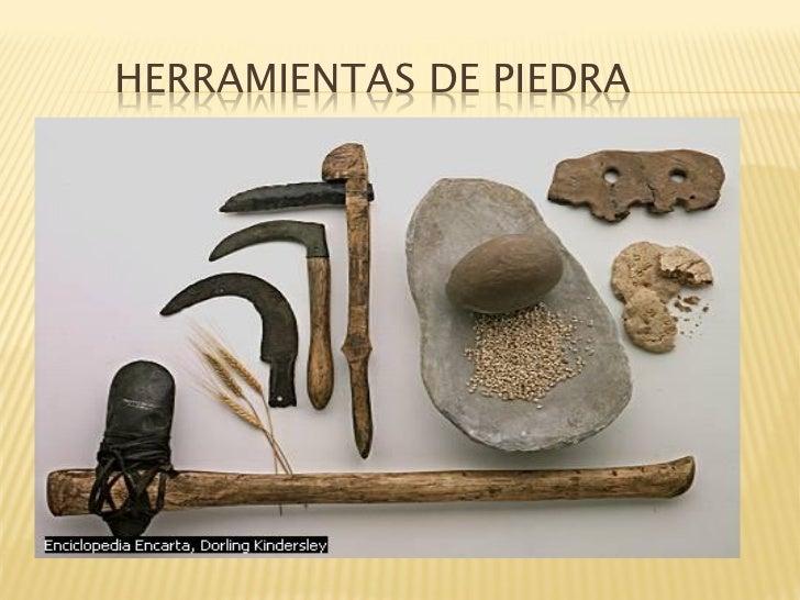 Edad de piedra - Herramientas para piedra ...