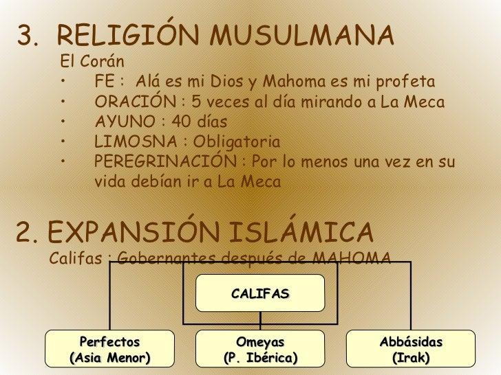 <ul><li>3.  RELIGIÓN MUSULMANA </li></ul><ul><ul><li>El Corán </li></ul></ul><ul><ul><li>FE :  Alá es mi Dios y Mahoma es ...