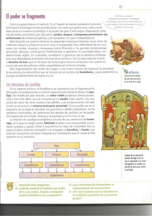 Edad media el feudalismo