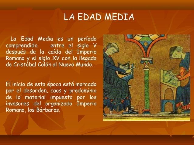 •Durante este periodo se llevó a cabo la invasión de los bárbaros al territorio del Imperio Romano que ocasionó la primera...