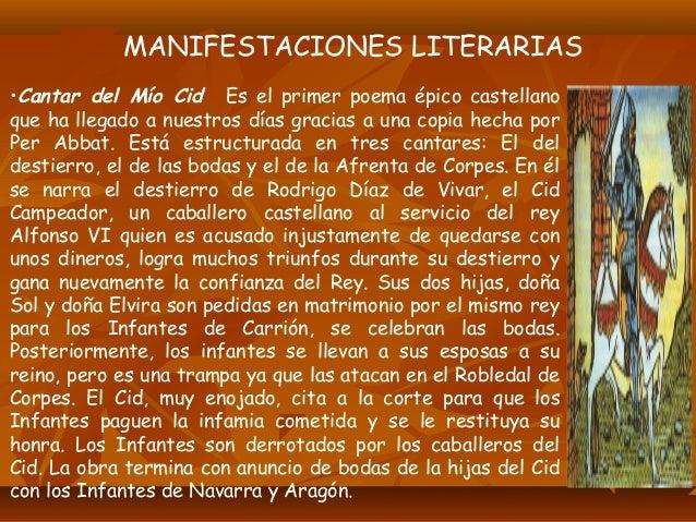 •Alfonso X, el sabio (1221-1284) Impulsó traducciones al castellano de obras árabes y orientales y el uso del castellano e...