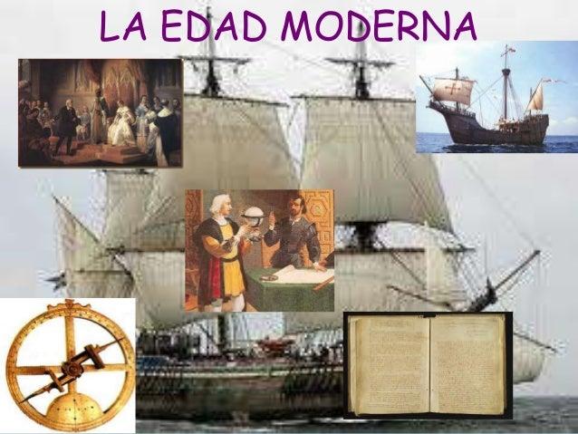 Edad moderna for Agenzia la moderna