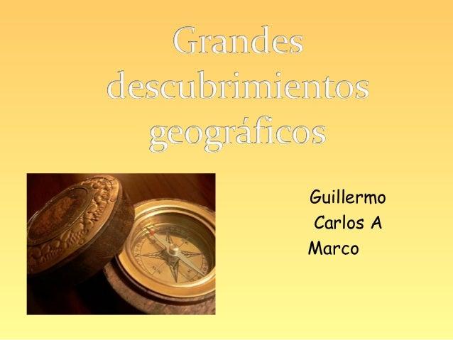 GuillermoCarlos AMarco