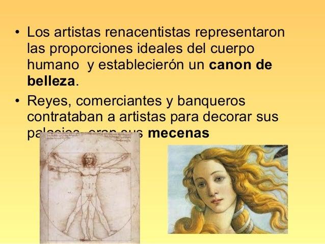 EsculturaLos escultores renacentistas reprodujeron elcuerpo humano, exaltando la armonía y labelleza de sus proporciones. ...