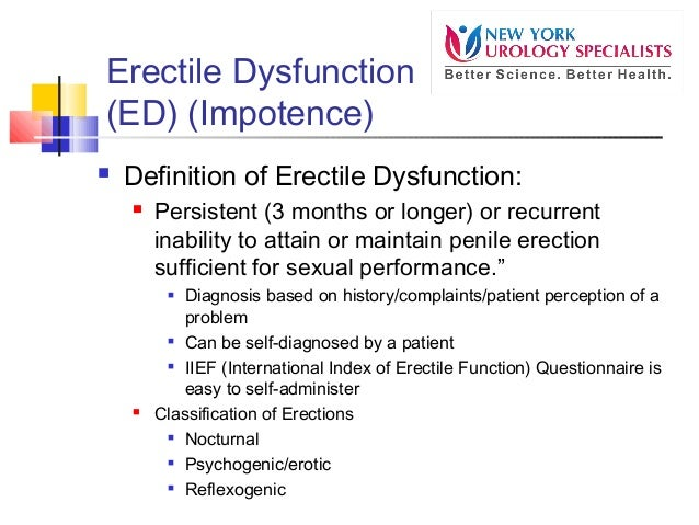 Sexual dysfunction causes and treatment