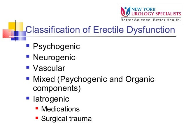 what is the definition of erectile dysfunction