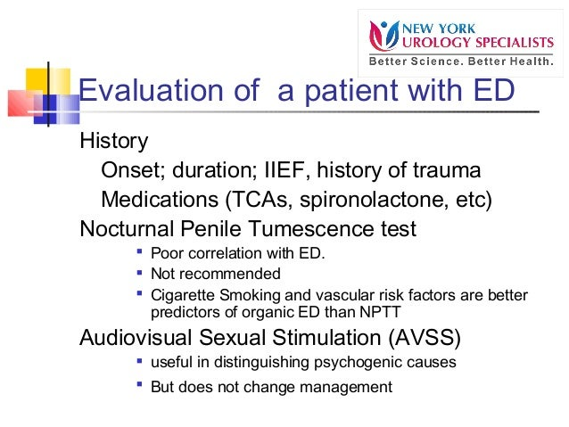 Erectile Dysfunction Causes and Treatment: 2014 Presentation slideshare - 웹