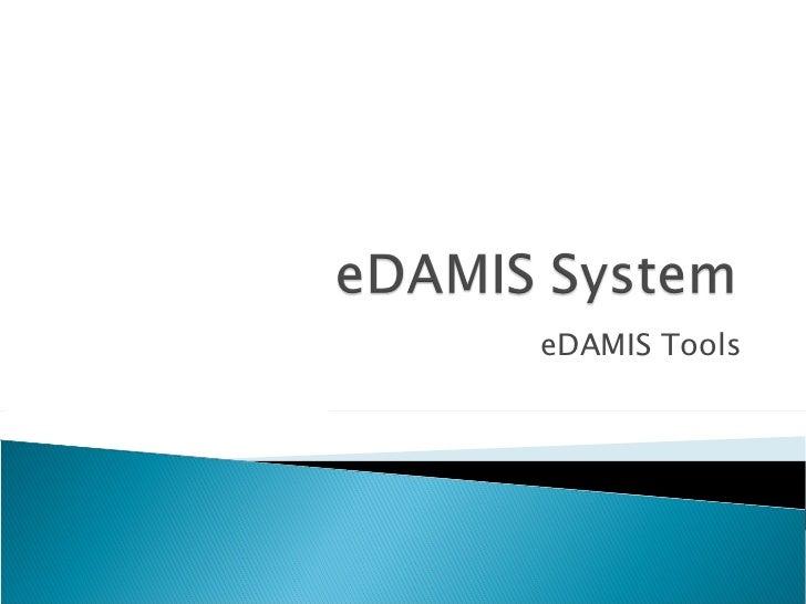 eDAMIS Tools