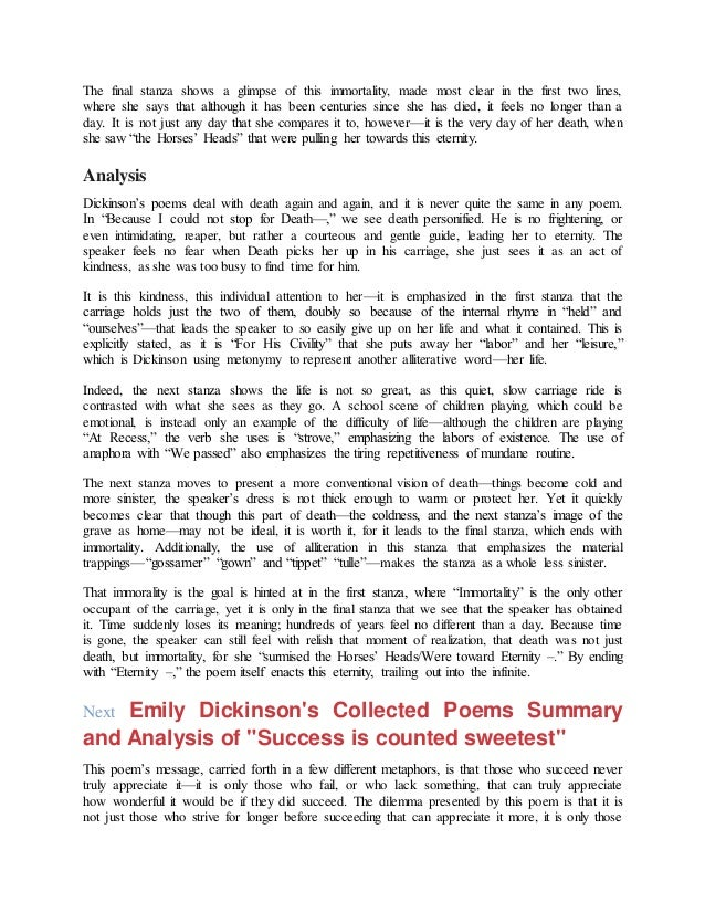 Thesis Example For Compare And Contrast Essay Emily Dickinson Essays  Download Compare And Contrast Essay High School And College also Analysis Essay Thesis Example Emily Dickinson Essays  Cdloga Thesis In A Essay