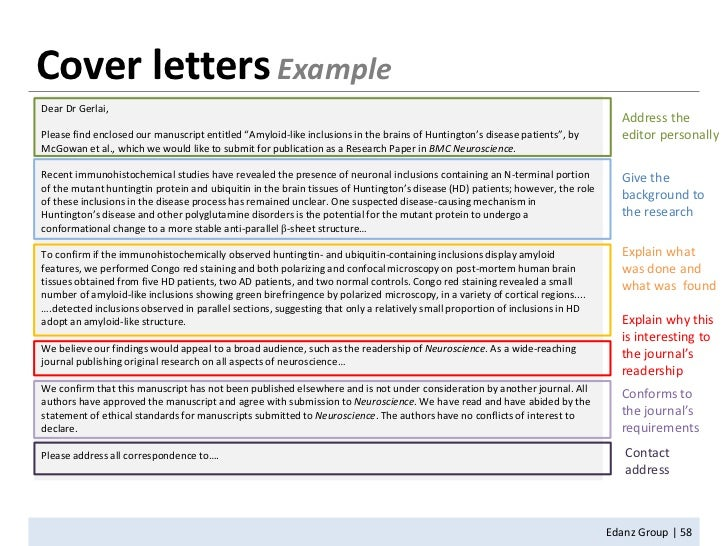 journal cover letter essay Academic cover letters: 10 top tips cover letters are standard in almost all job applications instead, approach your cover letter as a short essay it needs to present a coherent, evidence-based response to one question above all.