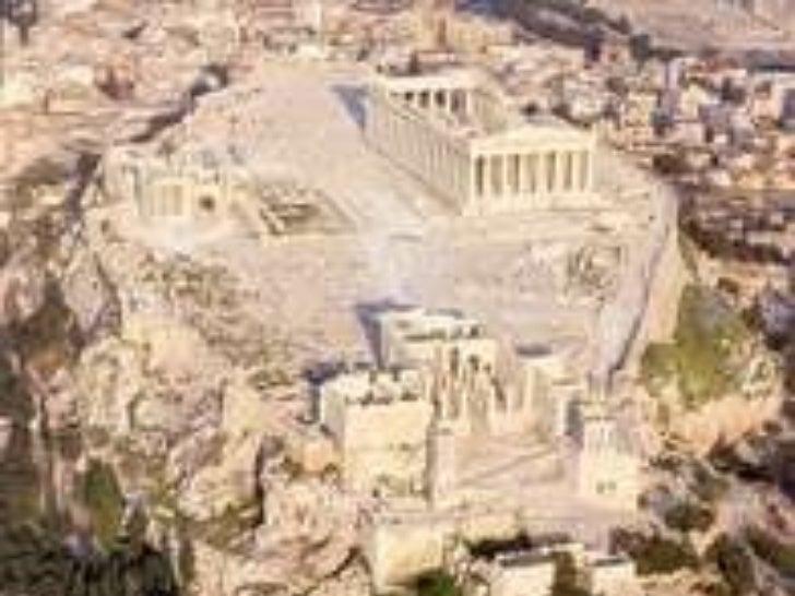 L'ACRÒPOLIS <ul><li>Acro (gran) Polis (ciutat) ... Gran ciutat! </li></ul><ul><li>Inicialment era un refugi, també es van ...