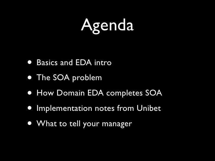 Event Driven Architecture Slide 3