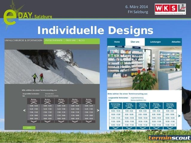 6. März 2014 FH Salzburg Individuelle Designs