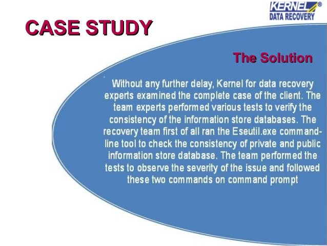 research paper database recovery Database recovery the process of restoring database integrity once a database  has been found to be incorrect  source for information on database recovery: a  dictionary of computing dictionary  research categories  cite this article.