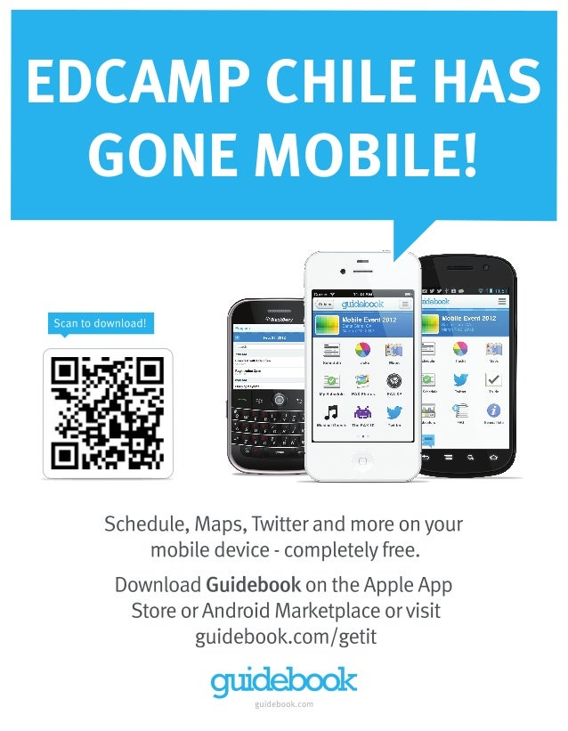 EDCAMP CHILE HAS  GONE MOBILE!