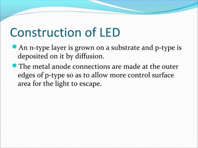 Construction of LED