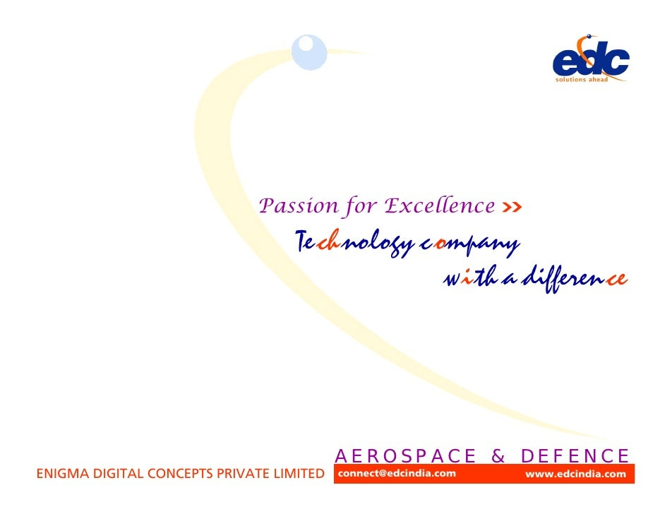 Passion for Excellence                                   Te ch nology c ompany                                            ...