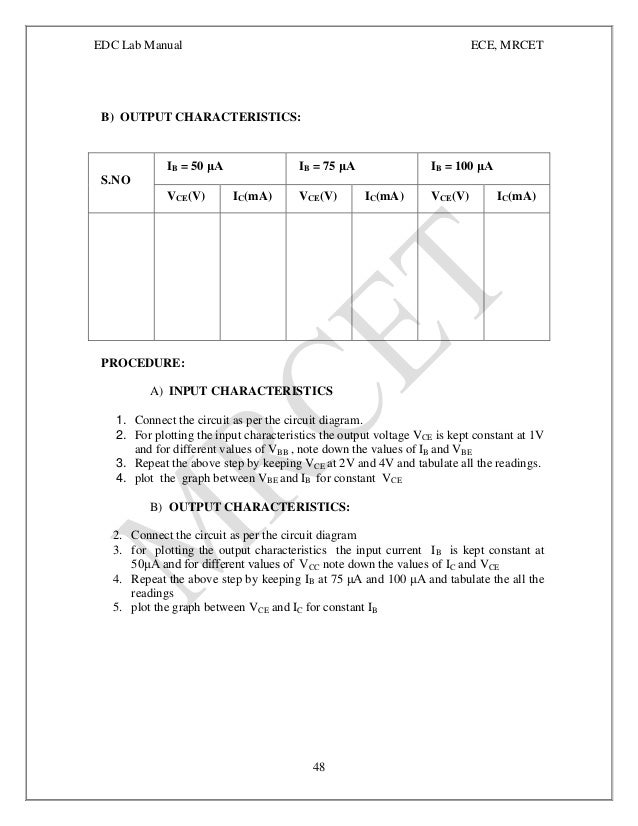 edc lab manual Disclaimer for manual changes only: the revision date and transmittal number   edc will transmit the laboratory demonstration report files to.