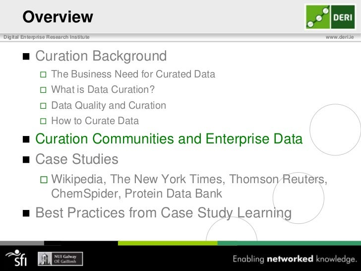 Setting up a Curation Process <br />Step 2: Identify who will curate the data<br />Individuals, depts, groups, institution...