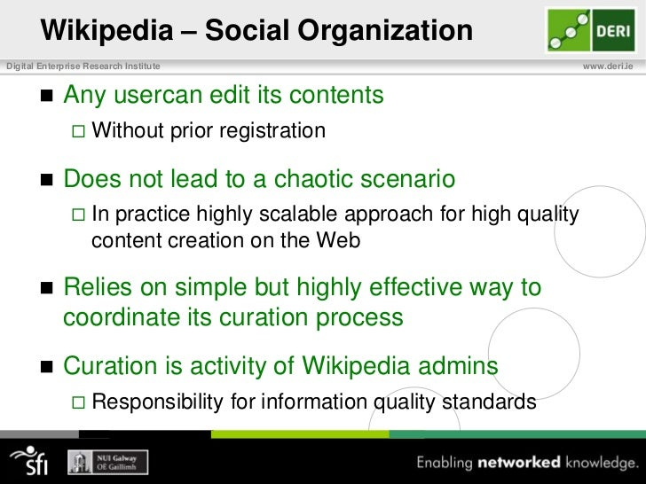 Wikipedia<br />MediaWiki <br />Wiki platform behind Wikipedia<br />Widespread and popular technology<br />Wikis can also s...