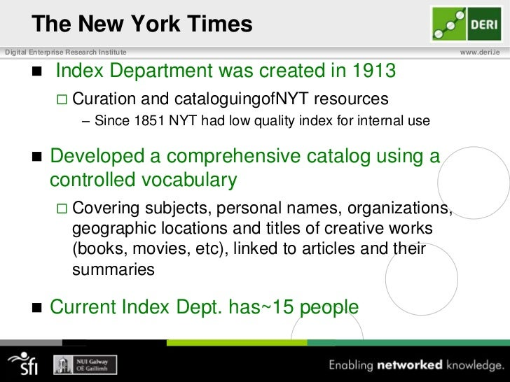 The New York Times<br />Largest metropolitan and third largest newspaper in the United States<br /><ul><li>nytimes.com