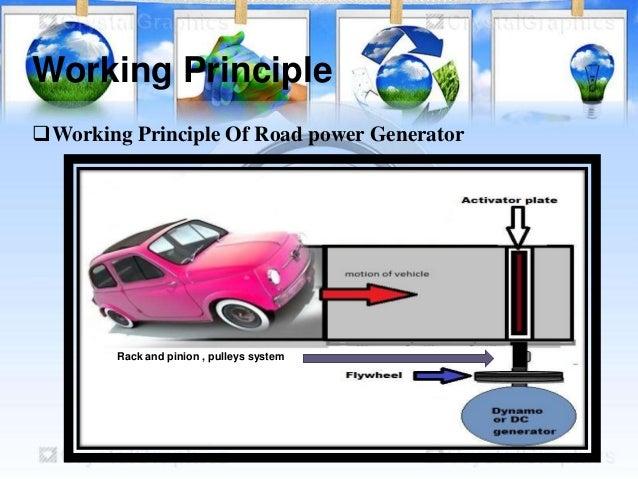design  u0026 fabrication of road power generator2