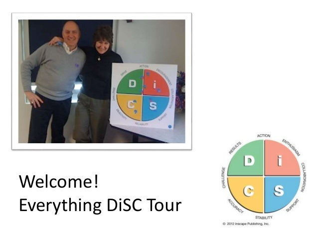 Welcome! Everything DiSC Tour