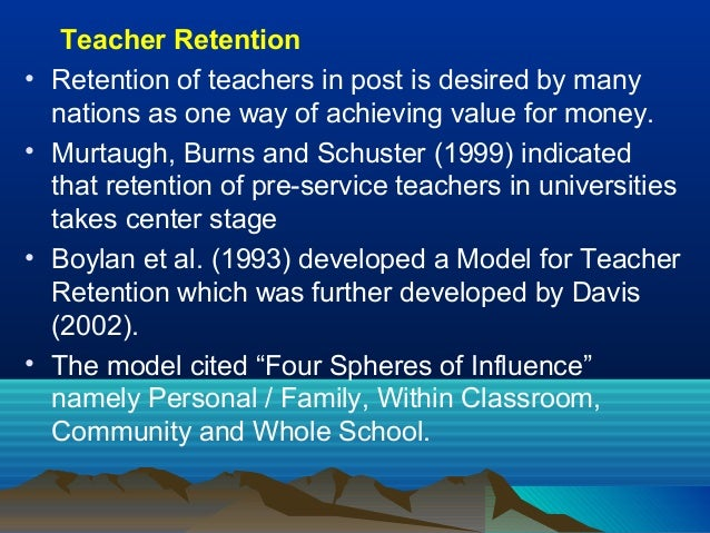 teacher retention Teachers' union representing the largest number of qualified and qualifying teachers in england and wales.