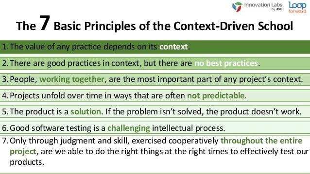 Utilize agile 'standard' practices