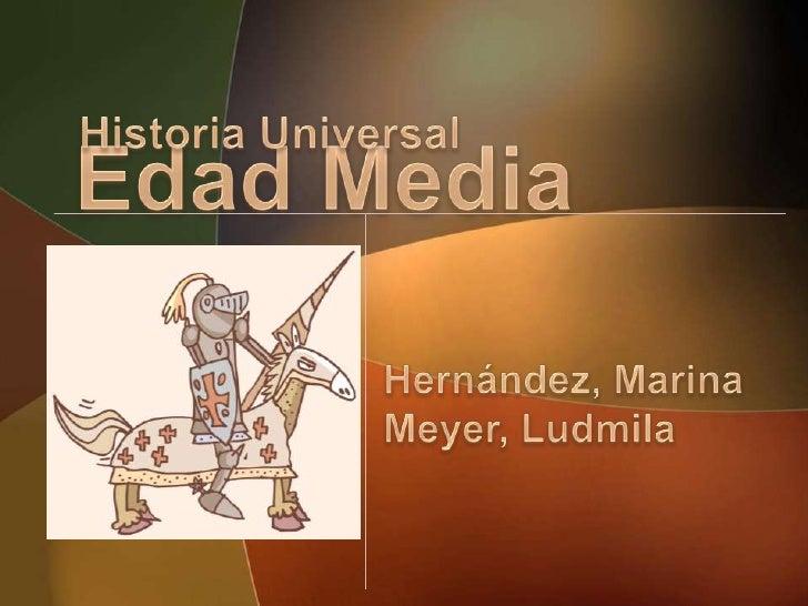 La Edad Media Slide 1