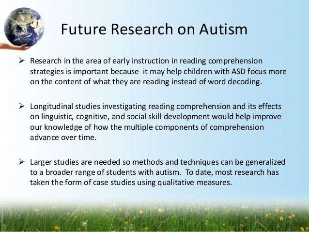 Effects of asd on reading comprehension