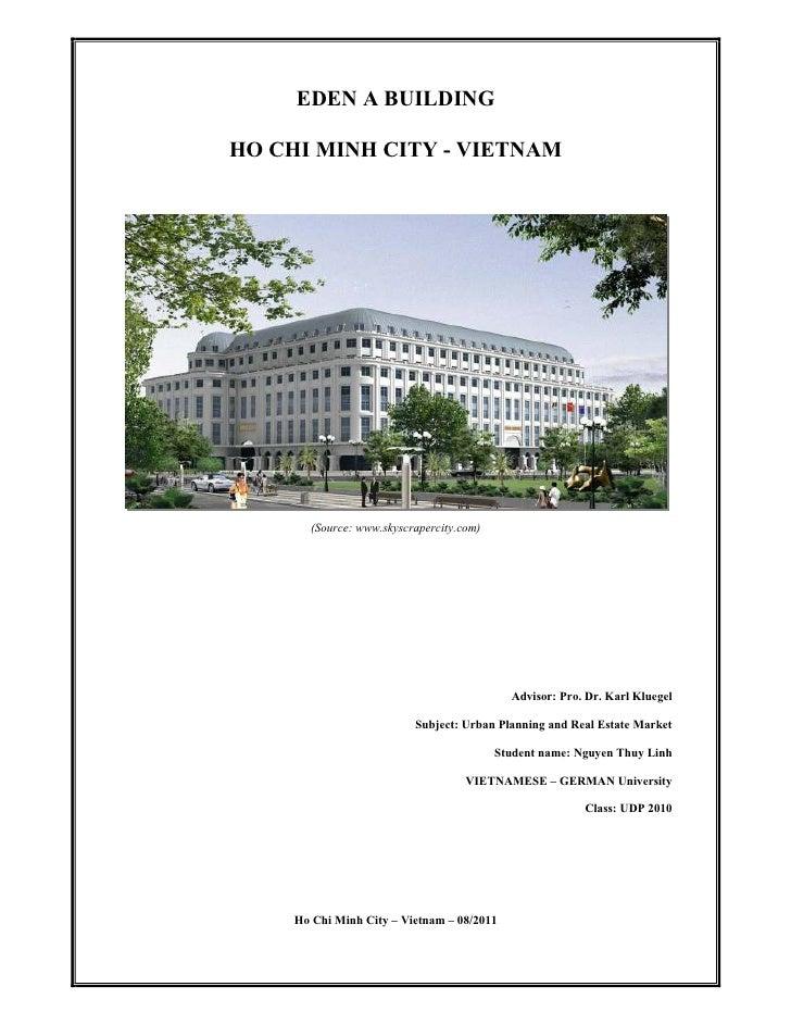 EDEN A BUILDINGHO CHI MINH CITY - VIETNAM       (Source: www.skyscrapercity.com)                                          ...