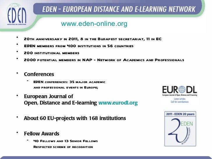 European perspectives on e-learning Slide 2