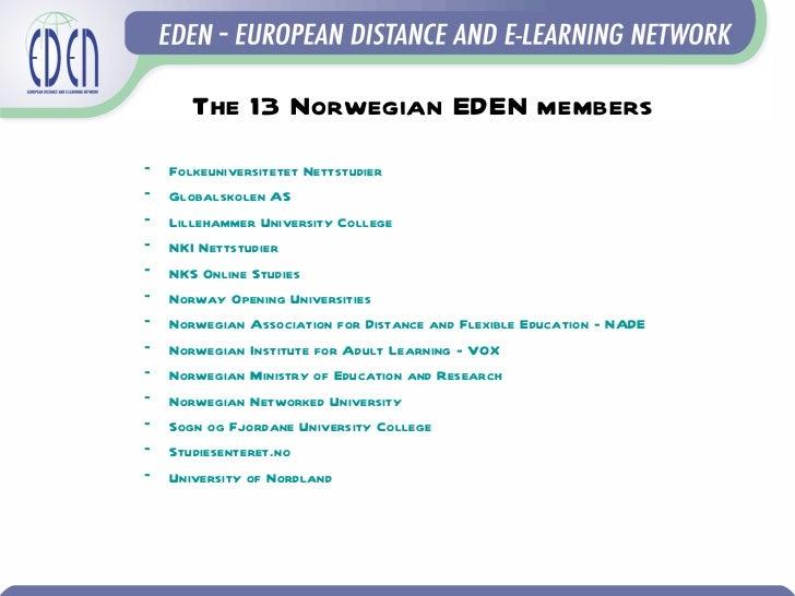 European perspectives on e-learning Slide 3