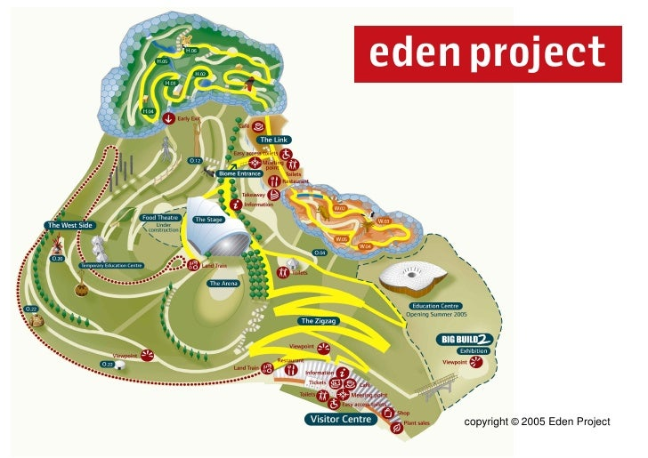 Eden Map - Sample Large Print Leaflets for Sensory Therapy Garden Pro…