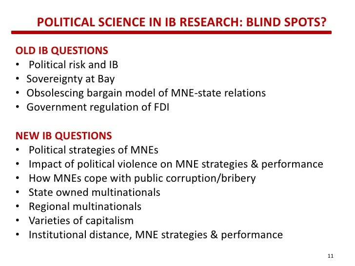 political science research questions