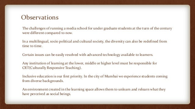 Teaching diverse learners in any school environment education essay