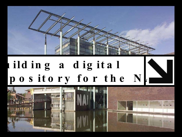 Building a digital  repository for the NAi