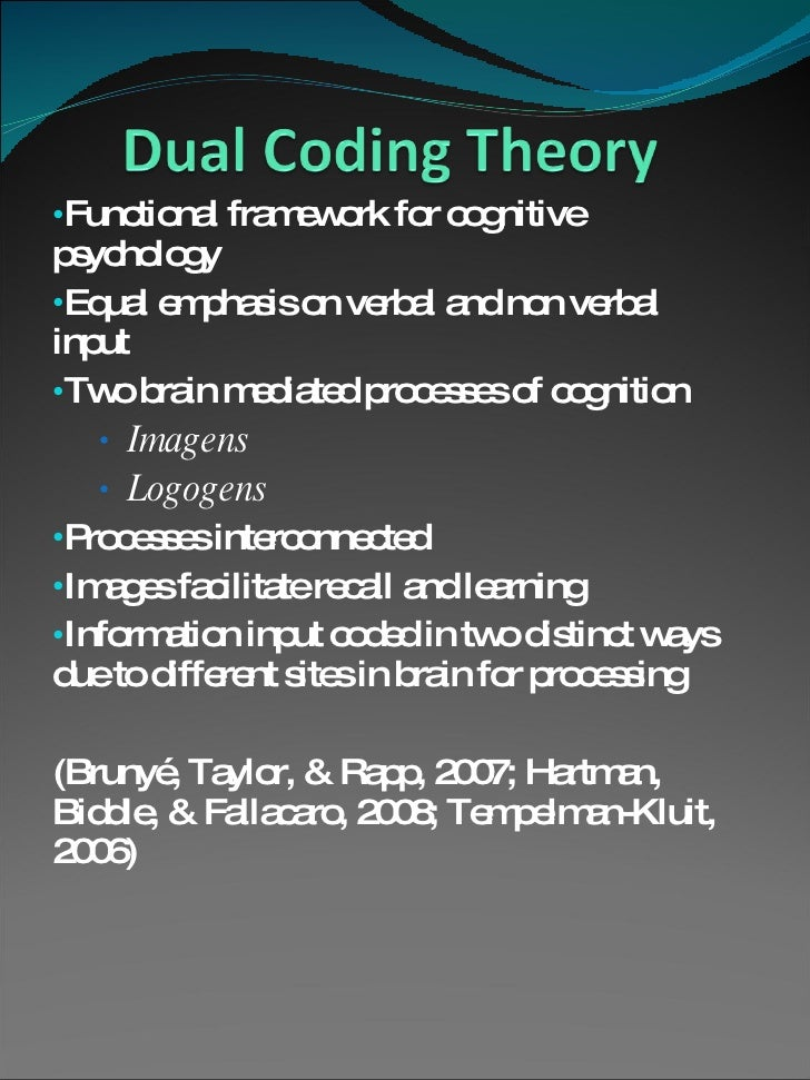 edet 637 dual coding theory