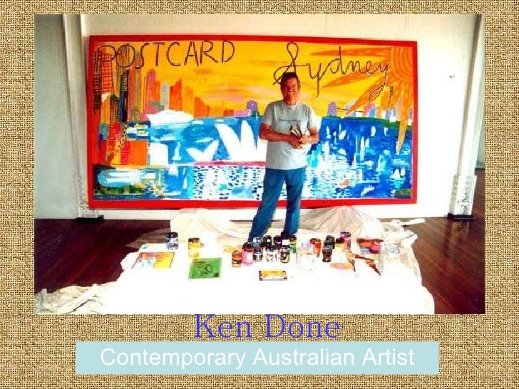 Ken Done Contemporary Australian Artist